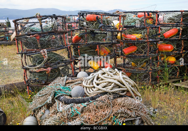 Pots and traps stock photos pots and traps stock images for Crab fishing oregon