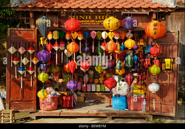 lampions chinese paper lanterns store stock photos. Black Bedroom Furniture Sets. Home Design Ideas
