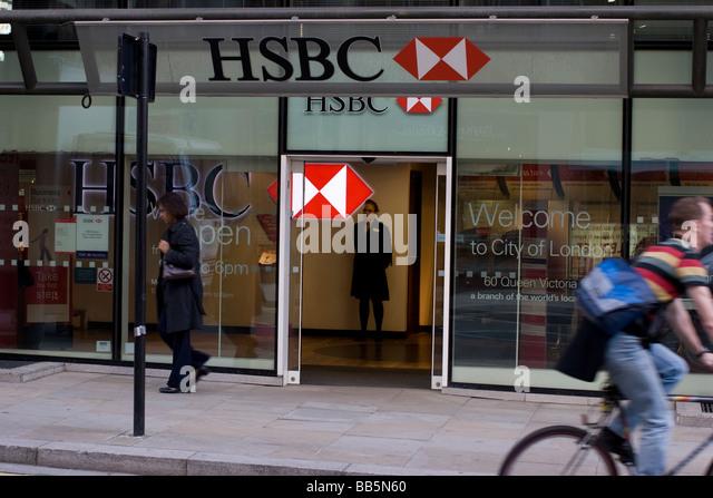 Hsbc Branch Stock Photos & Hsbc Branch Stock Images - Alamy