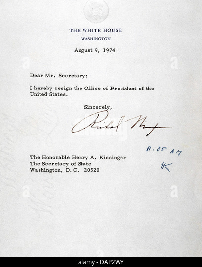 Funky Awesome Richard Nixon Resignation Letter Download Nixon ...