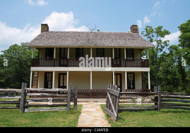 The Elkhorn Tavern At Pea Ridge Military Park