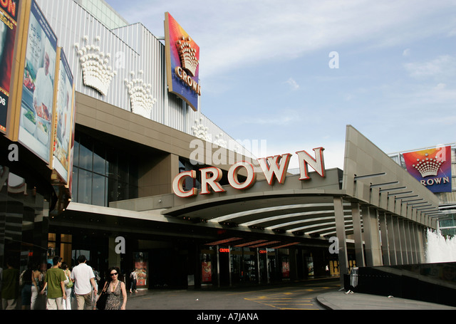 Crown Casino Melbourne Stock Photos Crown Casino