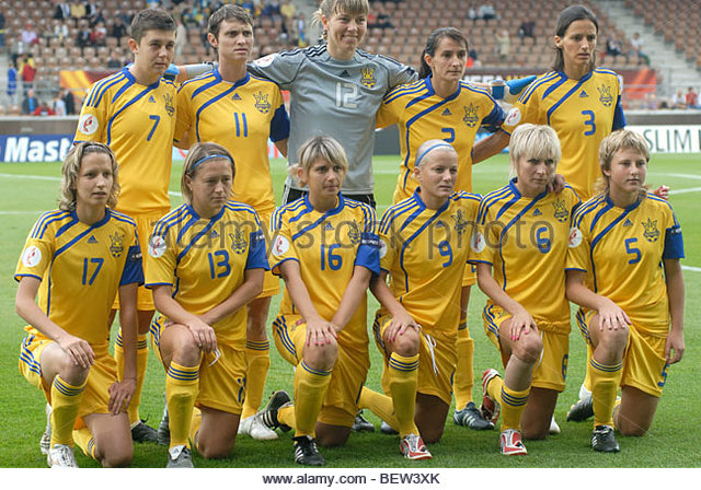Womens Football Team Stock Photos & Womens Football Team ... Ukrainian Football Girls