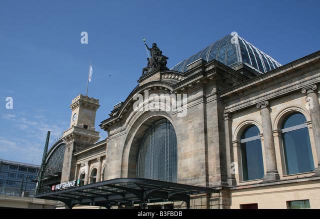 Dresden hauptbahnhof stock photos dresden hauptbahnhof for Berlin to dresden train