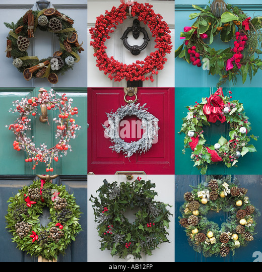 Remarkable Seasonal Wreaths For Front Door Gallery   Exterior .