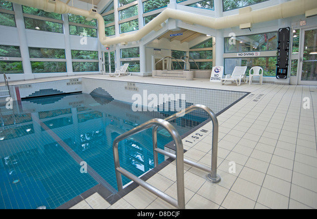 Indoor Public Swimming Pool indoor swimming pool public stock photos & indoor swimming pool