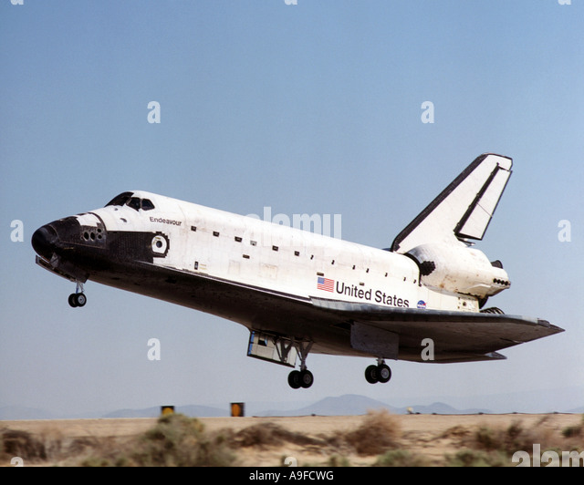 space shuttle landing at edwards air force base - photo #17