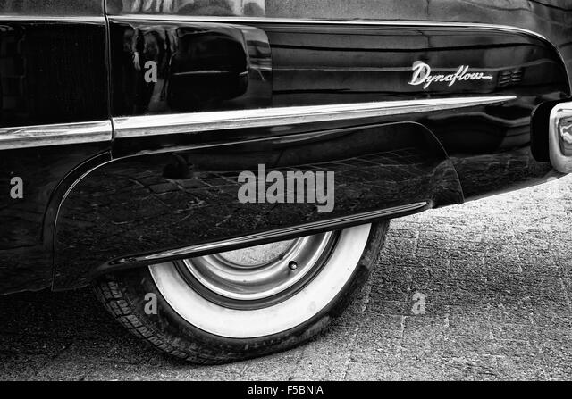 classic car close up stock image