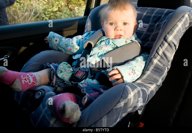 child seat kid baby car in safety safe strapped in strap seat belt seatbelt childseat chair
