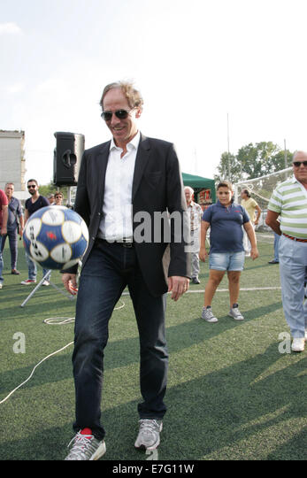 Casoria Italy  city photos : Casoria, Italy. 16th Sept, 2014. Franco Baresi gives samples in ...
