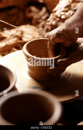 pottery stock photos pottery stock images alamy. Black Bedroom Furniture Sets. Home Design Ideas