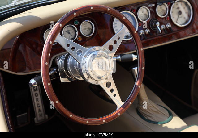 classic car interior stock photos classic car interior stock images alamy. Black Bedroom Furniture Sets. Home Design Ideas