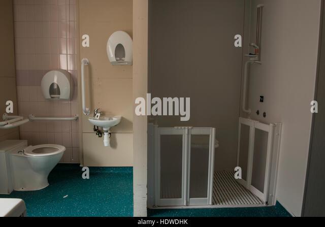 Bathroom Stalls England bathroom facilities stock photos & bathroom facilities stock