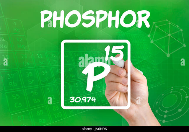 Symbol Chemical Element Phosphorus Stock Photos Symbol Chemical