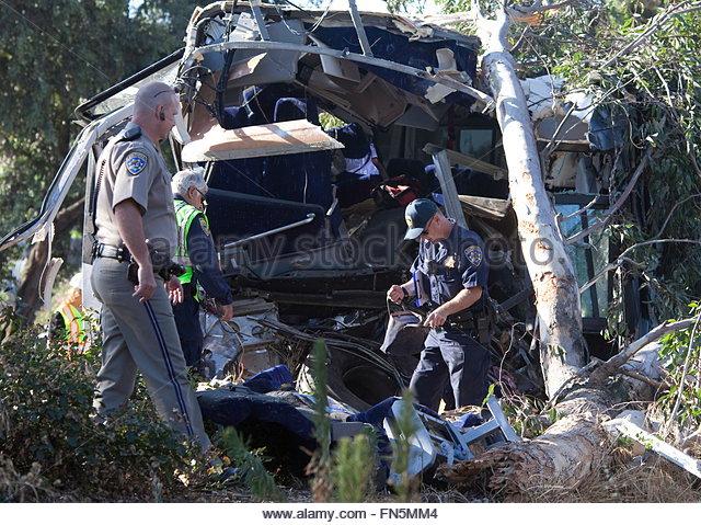 Car Crash  Freeway Nbc San Tomas