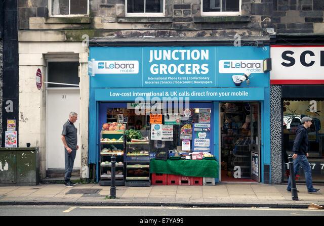 Grocery shop exterior stock photos grocery shop exterior for Asia asian cuisine richmond hill ga