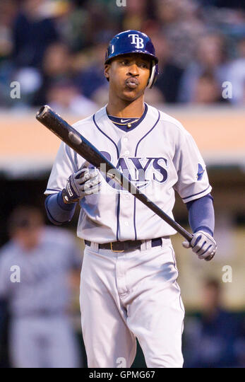 82427492 ... Upton, left, and May 7, 2010 Oakland, CA, USA Tampa Bay Rays center  fielder ...
