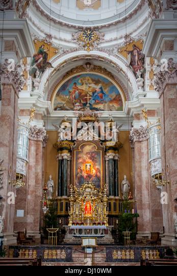 Pipe organ baroque stock photos pipe organ baroque stock for Interior design innsbruck