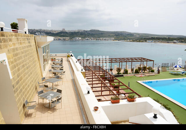 Mellieha Bay Hotel Malta Stock Photos Mellieha Bay Hotel Malta Stock Images Alamy