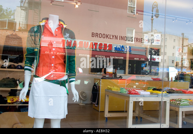 Brooklyn usa clothing store