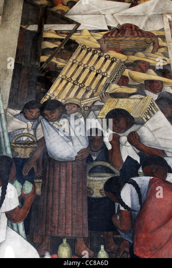 Diego rivera murals public education stock photos diego for Education mural
