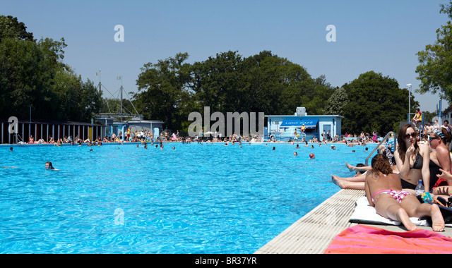 Tooting Lido Stock Photos Tooting Lido Stock Images Alamy