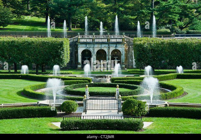 Longwood gardens stock photos longwood gardens stock for Landscaping longwood