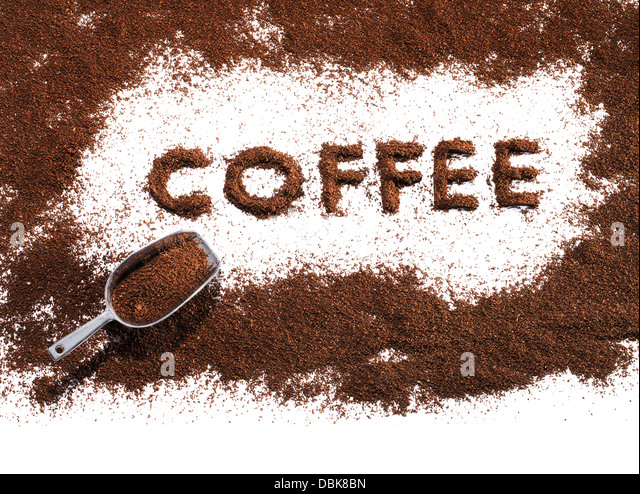 ground coffee stock photo - photo #27