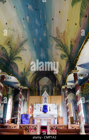 painted church stock photos painted church stock images alamy. Black Bedroom Furniture Sets. Home Design Ideas