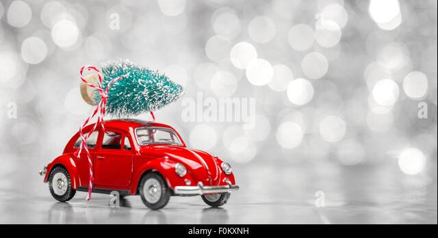 Mini Car Christmas Tree On Stock Photos & Mini Car Christmas Tree ...