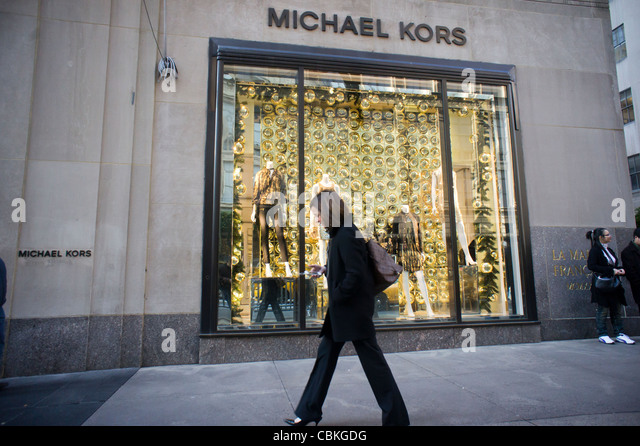michael kors store new york stock photos michael kors