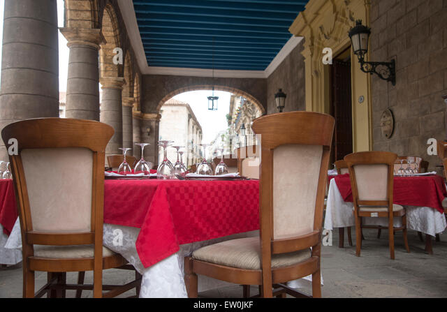 El Patio Restaurant   Stock Image