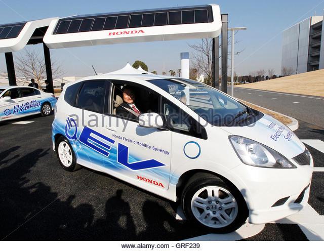 Solar powered stations stock photos solar powered for Honda motor company stock