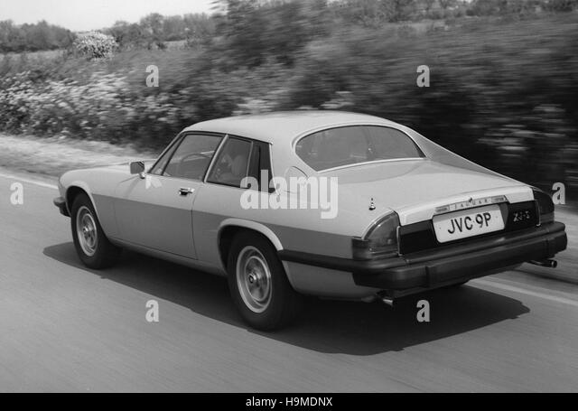 1975 jaguar xjs stock image