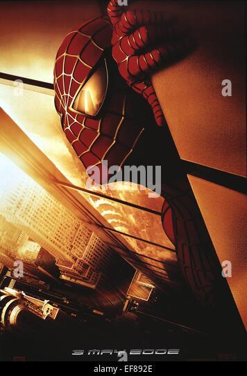 Spiderman Movie Poster Stock Photos & Spiderman Movie ...