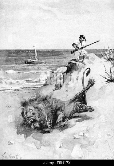 Robinson Crusoe Book Stock Photos  Robinson Crusoe Book Stock