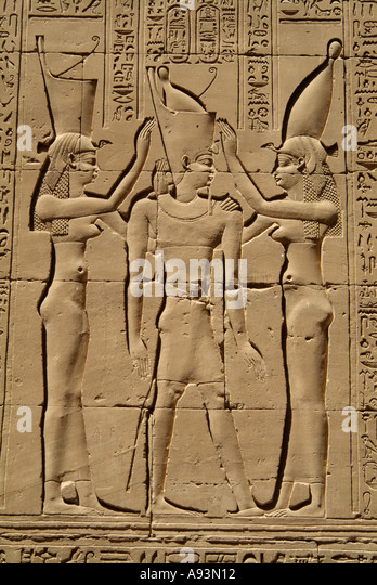 Gods of egypt stock photos images
