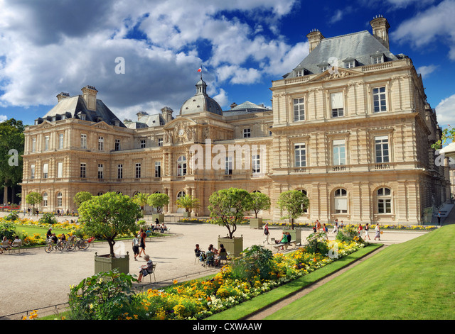 Luxembourg palace stock photos luxembourg palace stock for Art du jardin grand palais