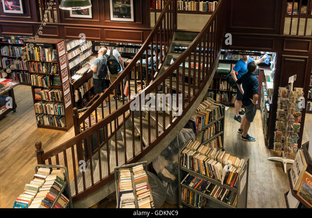 Housing Works Bookstore And Cafe In Soho, New York City   Stock Image