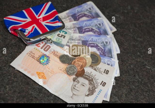 geld in england