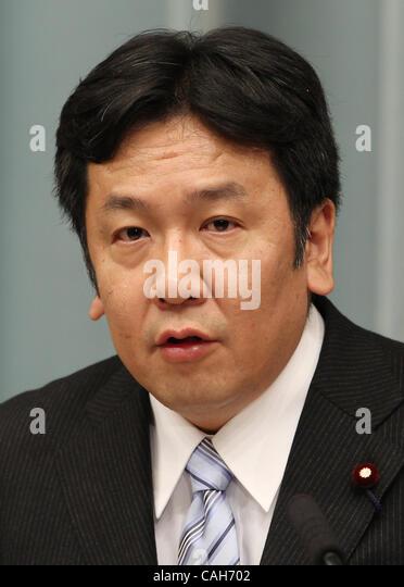 Chief Cabinet Secretary Stock Photos & Chief Cabinet Secretary ...
