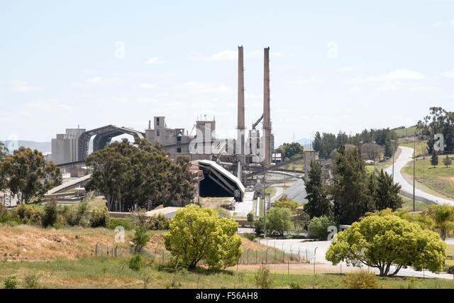 Cement Manufacturing Plants United States : Portland cement factory stock photos