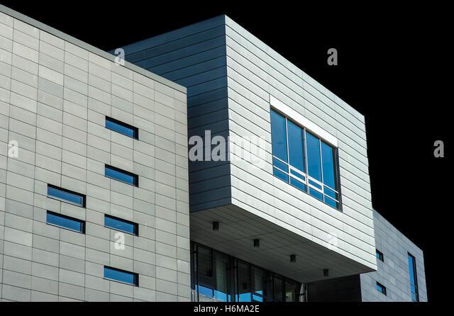 Property Development Centers : Office block infrastructure stock photos
