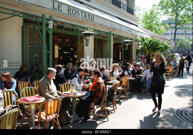 Rostand stock photos rostand stock images alamy for Resto paris jardin