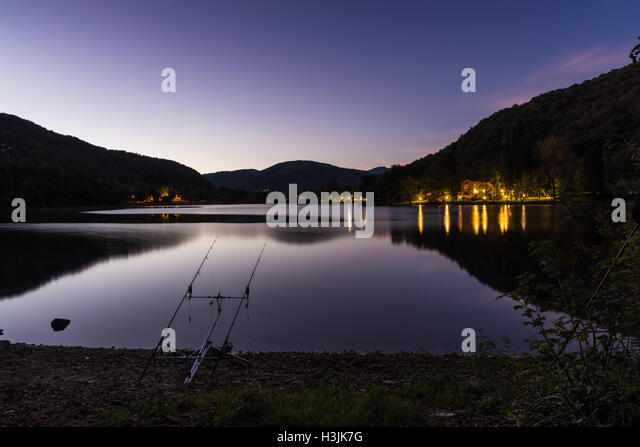 carp angler stock photos & carp angler stock images - alamy, Reel Combo