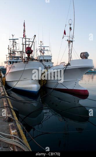 Tuna fishing boat stock photos tuna fishing boat stock for Japanese fishing boat