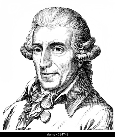 an analysis of the austrian composer joseph haydn 'papa' haydn portrayed by thomas hardy, 1792 since the early 1760s the great  austrian composer had been master of music to the  and stolen for a  phrenological examination which concluded that his 'bump of music' was.