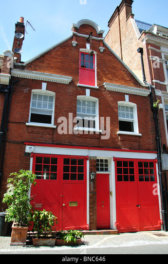 Mews house  Bruton Place  Mayfair  City of Westminster  Greater London  England
