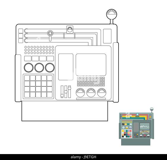 printing machine stock vector images