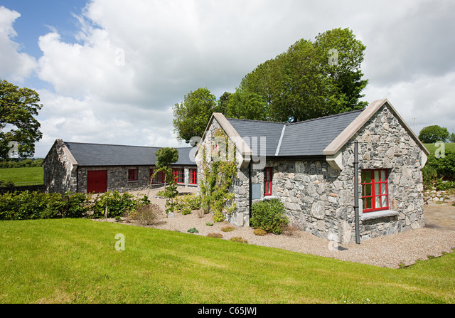 Irish Cottage Garden Stock Photos Irish Cottage Garden